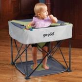 Go-Pod Portable Activity Seat in Pistachio by Kidco